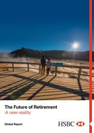 The Future of Retirement. A new reality