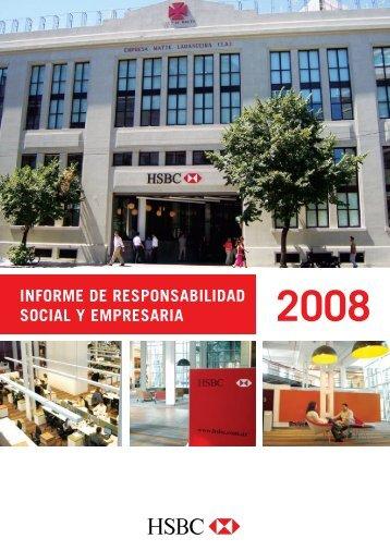 INFORME DE RESPONSABILIDAD SOCIAL Y EMPRESARIA - Hsbc