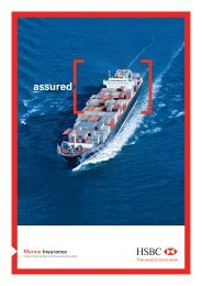 Marine Insurance E - HSBC
