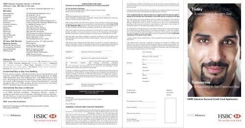 HSBC Advance Secure Visa Platinum Credit Card     - HSBC Sri