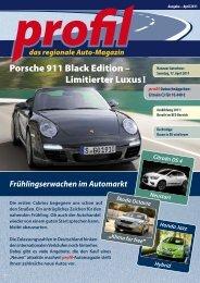 Porsche 911 Black  Edition – Limitierter Luxus ! - Profil