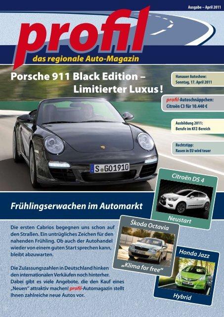 Porsche Sonderedition 2011 bis 2013 versch AUTOS Serien zur Auswahl
