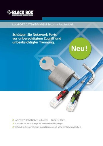 Schützen Sie Netzwerk-Ports vor unberechtigtem Zugriff und ...