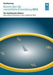 Kurzfassung - Human Development Reports - United Nations ...