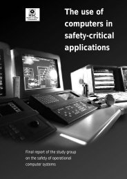 The use of computers in safety-critical applications – Final - HSE