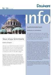 Neue ecopy-Schnittstelle Justizministerium - bmd Gmbh