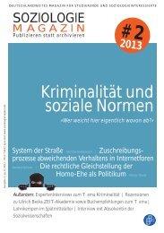Kriminalität und soziale Normen - Hypotheses
