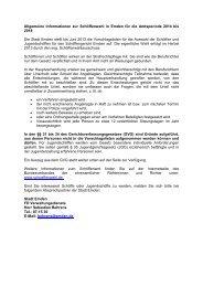 Allgemeine Informationen zur Schöffenwahl in ... - Stadt Emden