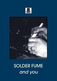 indg248 - solder fume and you - HSE