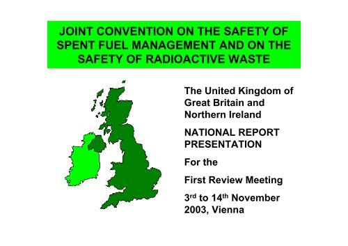 UK presentation to the first review meeting - HSE
