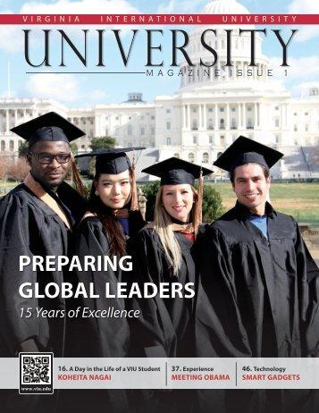 University Magazine Issue 1