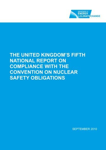 The United Kingdom's fifth national report on compliance with ... - HSE