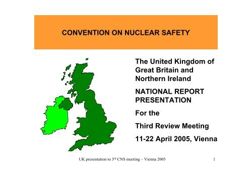 Convention on nuclear safety - HSE
