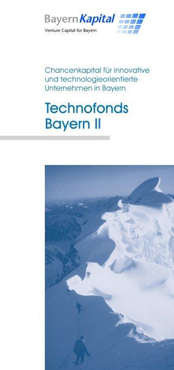 Technofonds Bayern II - Bayern Kapital