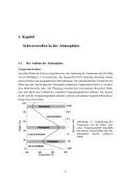 1. Kapitel Schwerewellen in der Atmosphäre