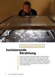 Ionisierende Strahlung - Helmholtz Zentrum München