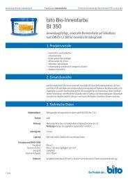 bito Bio-Innenfarbe BI 350 - Bito AG