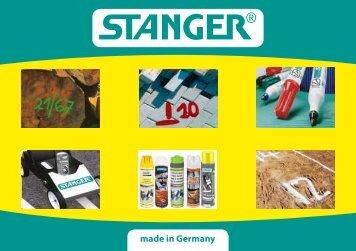 Katalog Markierungstechnik - Stanger