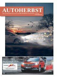 AUTOHERBST - Wochenspiegel Brandenburg