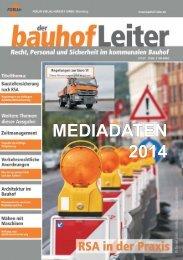 MEDIADATEN 2014 - Forum Verlag Herkert GmbH