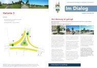Haushaltsbefragung zur Straßenplanung