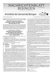 39 Umbruch_Leerumbr.qxd - Gemeinde Bisingen