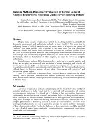 Fighting Myths in Democracy Evaluation by Formal Concept ...