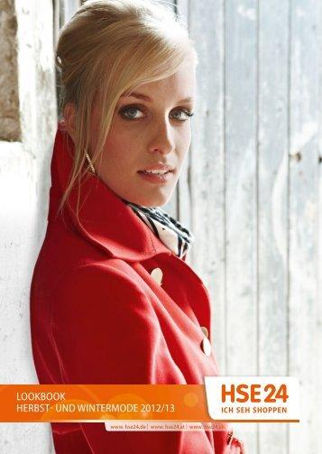 Lookbook Herbst- und Wintermode 2012/13