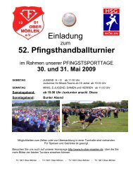 Titelblatt 2008 - HSG Mörlen
