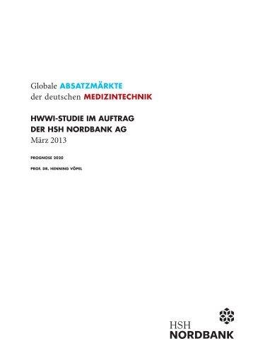 Globale Absatzmärkte der deutschen Medizintechnik ... - HWWI
