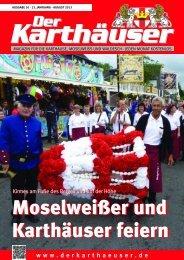 August2013_32 Seiten.qxd - Der Karthäuser
