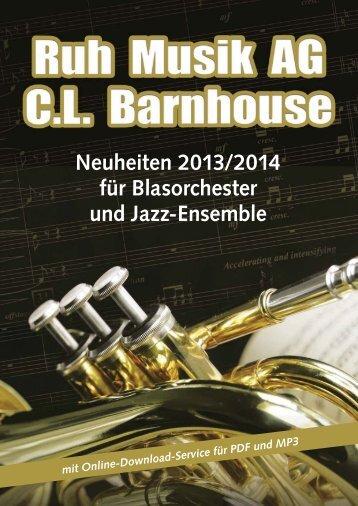 den Barnhouse Katalog als PDF laden - Ruh Musik AG