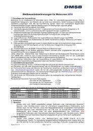 Wettbewerbsbestimmungen für Motocross 2014 - DMSB