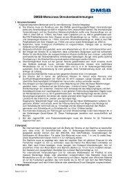 Motocross Streckenbestimmungen 2013 - DMSB
