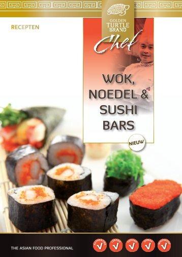WOK, NOEDEL & SUSHI BARS