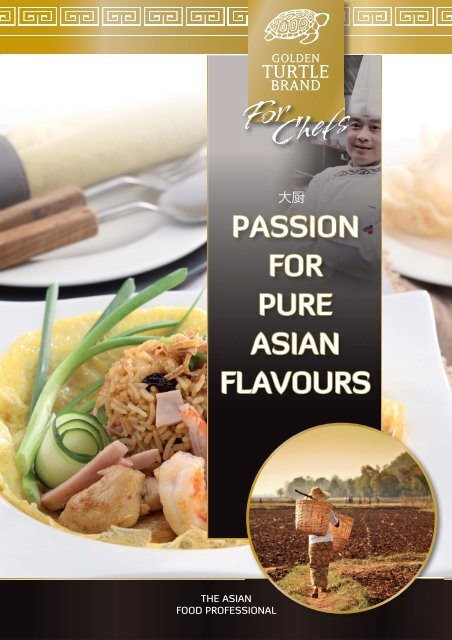 passion for pure asian flavours - Heuschen & Schrouff OFT BV