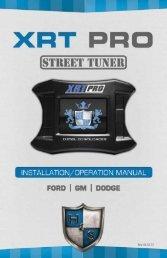 XRT Pro Instructions - H&S Performance