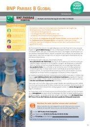 BNP Paribas B Global - BNP Paribas Fortis