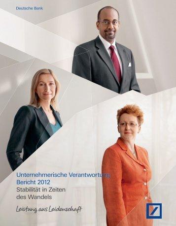 Unternehmerische Verantwortung Bericht 2012 ... - Econsense