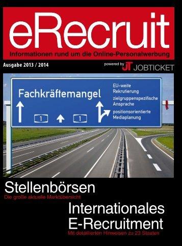 Internationales E-Recruitment Stellenbörsen - JobTicket GmbH