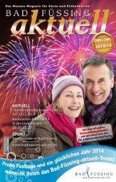 BF aktuell - Dez 2013 / Jan 2014 - Bad Füssing