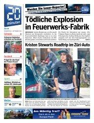 Tödliche Explosion in Feuerwerks-Fabrik - 20 Minuten