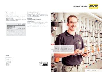 EKS Messpreise Schweiz - EKS AG