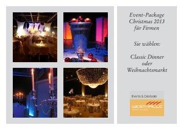 Weihnachtspackage - Parkhotel Langenthal