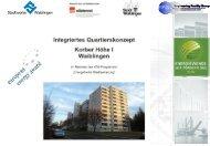 Vortrag zum 1. Kommunaler Energie - Stadt Waiblingen