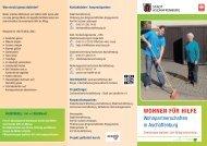 """Flyer """"Wohnen für Hilfe"""" (PDF, 2 MB) - Stadt Aschaffenburg"""