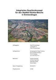 Integriertes Quartierskonzept für den Stadtteil Bürkle-Bleiche in ...