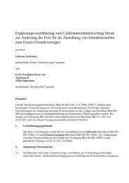 Ergänzungsvereinbarung zu den Geschäftsprozessen Lieferende ...