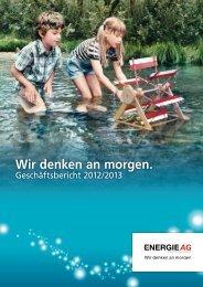 Geschäftsbericht 2012/2013 - Energie AG Oberösterreich