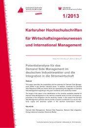online lesen - Hochschule Karlsruhe – Technik und Wirtschaft